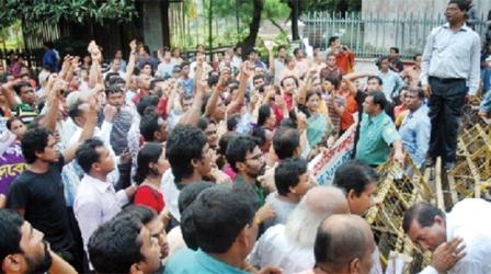 Police stop Hindu march